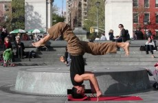 Simon Park — be present Allstar Freestyle Yoga in NYC