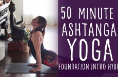 50 Minute Ashtanga Practice Yoga with Lesley Fightmaster