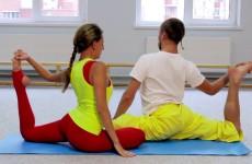 Парная йога. Практика. Перетекание форм