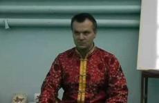 Семинар Андрея Лаппы в Днепропетровске часть 1 из 8 | Универсальная йога | Теория йоги