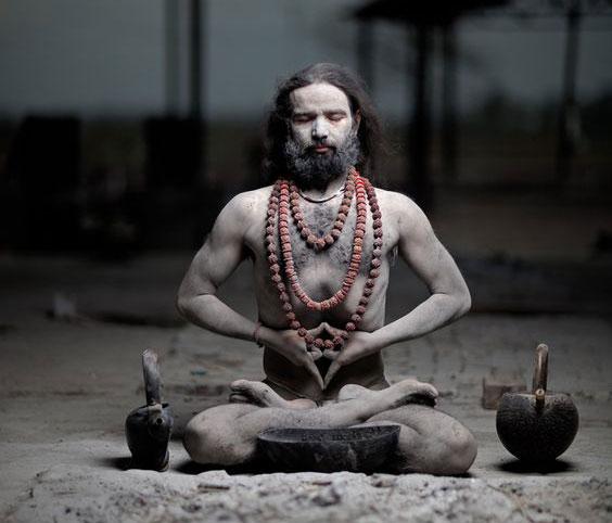 поза для пранаямы и медитации