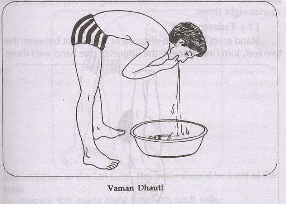 Вамана Дхоути (Кунджала Крия и Вьягхра Крия)