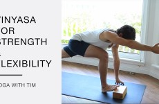 50 Minute Vinyasa Flow Yoga For Strength And Flexibility With Tim Senesi
