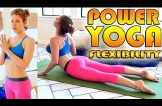 Beginners Power Yoga For Flexibility — Total Body Workout — 45 Minute Yoga Class