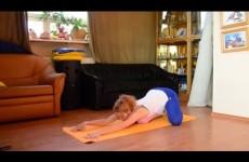 Йога для беременных.  Хорошие упражнения в третьем триместре. 4 часть