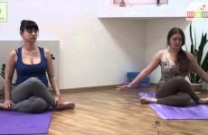Йога для беременных  Простые упражнения на 15 минут