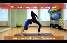 Йога с Алексеем Лихановым. Комплекс на прогибы и скрутки. Средний уровень (январь 2017)