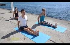 ЙогаШкола. Скручивания в йоге. Маричиансана 3, Ардха Матсиендрасана
