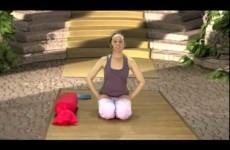 Лучшие упражнения для шеи при остеохондрозе видео  Йога при остеохондрозе