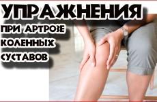 Упражнения для коленных суставов для пожилых людей 61