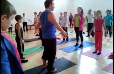 Ваджра йога. Тадасана