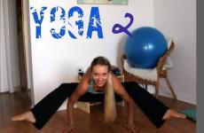 Yoga для похудения ног!Часть 2/ Удлинение и растяжка/ Четверг