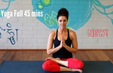 Yoga Vinyasa Strong Flow — Full 45 minutes — Advanced