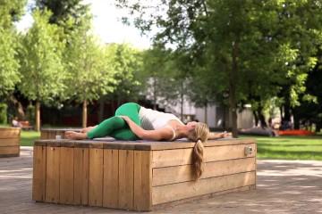 Дживамукти йога. Утренняя практика (10 минут).