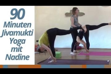 Урок по Дживамукти йоге на немецком языке (90 минут).