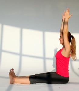 дандасана поза йоги